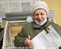 отзыв от покупателя теплицы ЗАВОДА ГОТОВЫХ ТЕПЛИЦ (Александра Алексеевна. г. Тамбов)